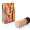 paper tube packaging for luxury textile 1