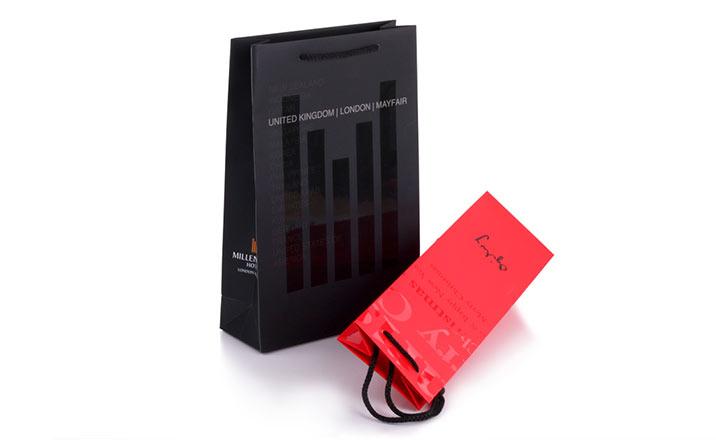 Luxury packaging - Advertisement Bags 02