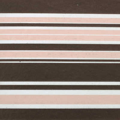 Luxury packaging - Neopolitan stripes