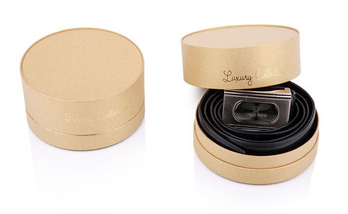 Luxury packaging - Paper Tube for Belts 16