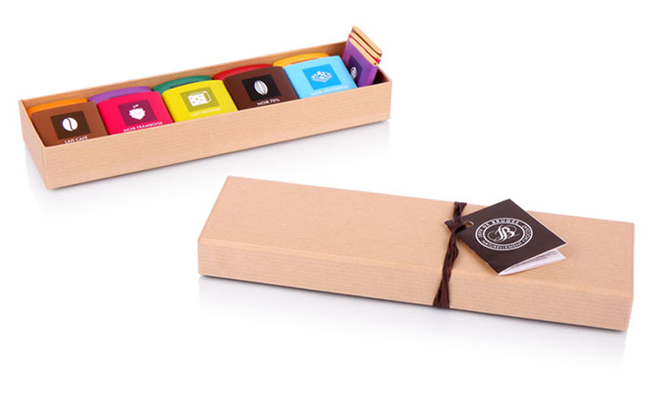 Luxury packaging - Box for Chocolate Sweets 10