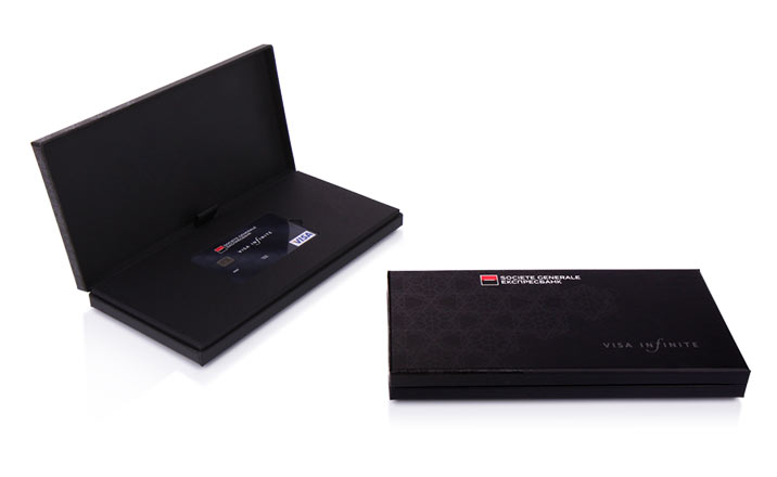 Luxury packaging - Box for Credit Cards 01