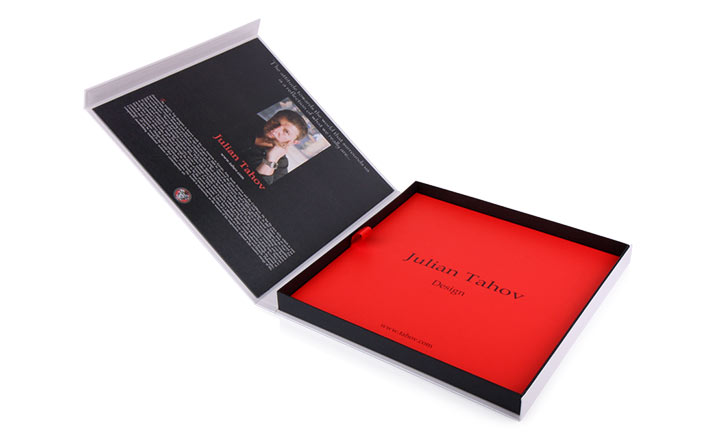 Luxury packaging - Box for Luxury Catalogs 03
