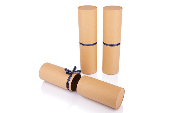 Luxury packaging - Paper Tubes for Bottles 02