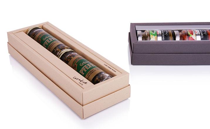 Luxury packaging - Box for Gourmet 06