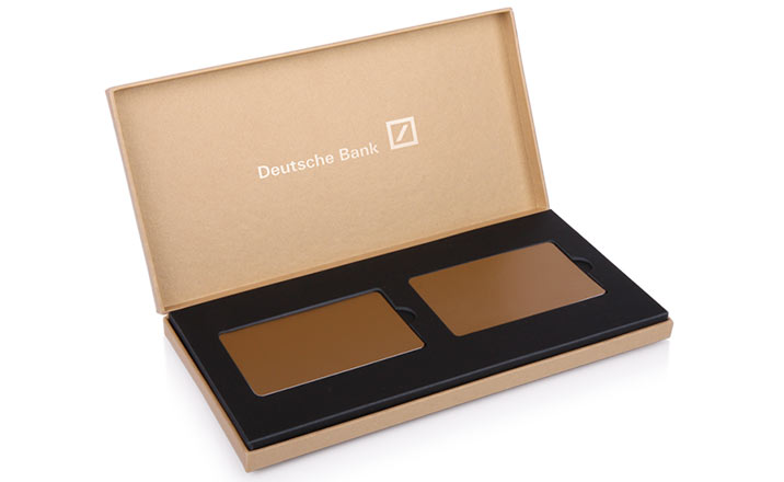 Luxury packaging - Box for Credit Card 02