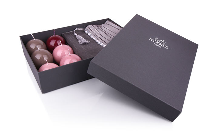 Luxury packaging - Box for Textiles 01