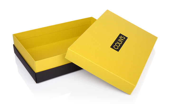 Luxury packaging - Box for Textiles 06