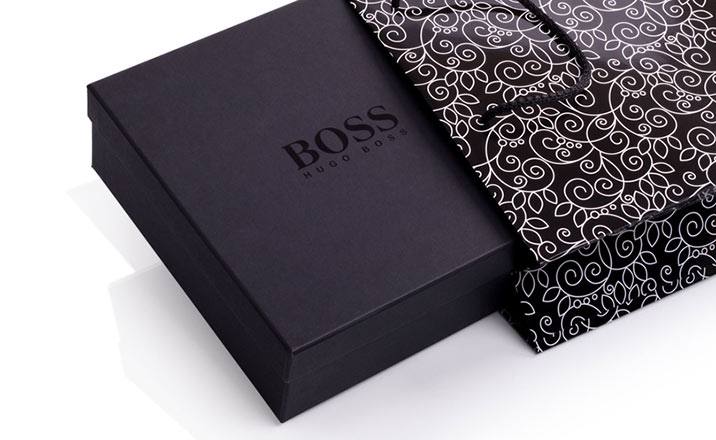 Luxury packaging - Box for Textiles 07