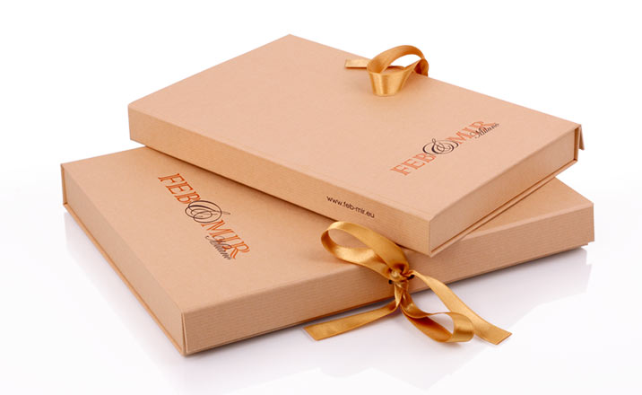 Luxury packaging - Box for Books 06