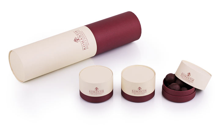 Luxury packaging - Paper Tubes for Bottles 08
