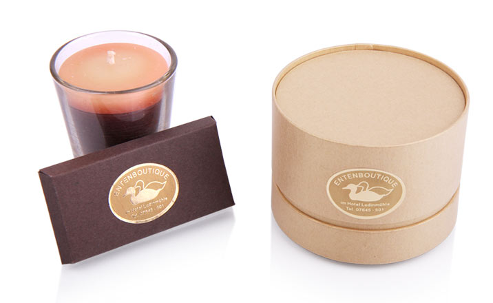 Luxury packaging - Paper Tube for Candles 25