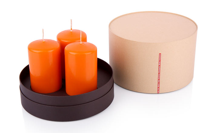 Luxury packaging - Paper Tube for Candles 22