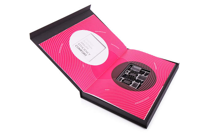 Luxury packaging - Box for Luxury Catalogs 02