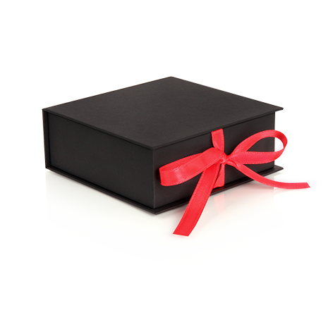 Luxury packaging - Square Boxes with Ribbon